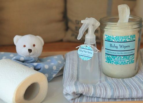 Make DIY All-Natural Baby Wipes