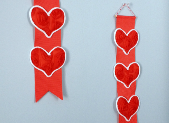 Valentine Heart Mini Banners