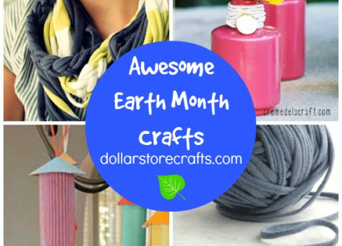 10 Crafts for Earth Month