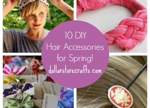 10 Recycled Hair Accessories for Spring