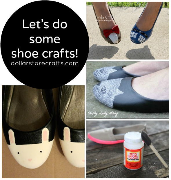 10 Sassy Shoe Crafts for Spring