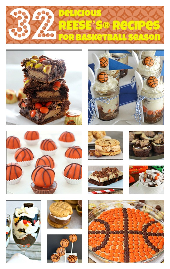 32 Delicious REESE'S® Recipes for Basketball Season