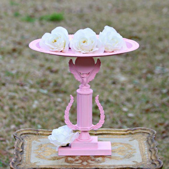Trophy candle holder