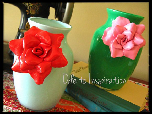 Anthro-inspired floral vases