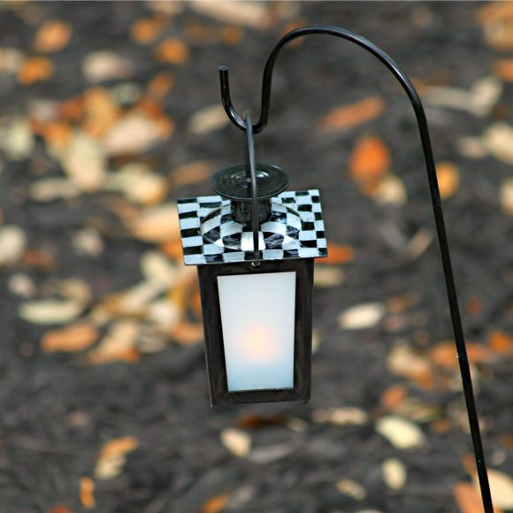 decorated lantern diy