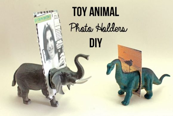 toy Animal Photo Holders
