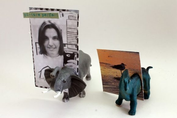 Toy Animal Photo Holder