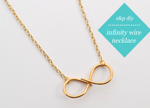 Wire Infinity Necklace DIY