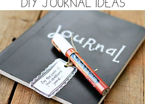 10 DIY Journals in All Shapes and Sizes