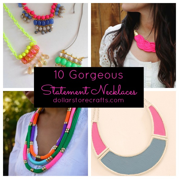 Diy Fashion Accessories Necklace I don t wear a ton of jewelry