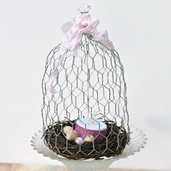 Tutorial: DIY Chicken Wire Cloche » Dollar Store Crafts