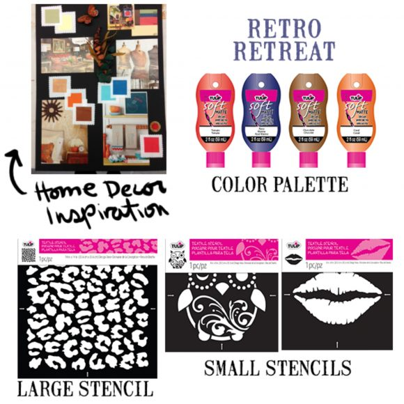 Tulip project inspiration stencils