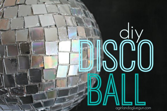 Make a Disco Ball from Recycled CDs