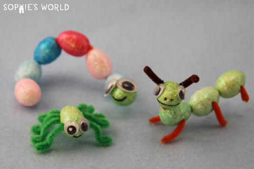 Make Foam Egg Insects