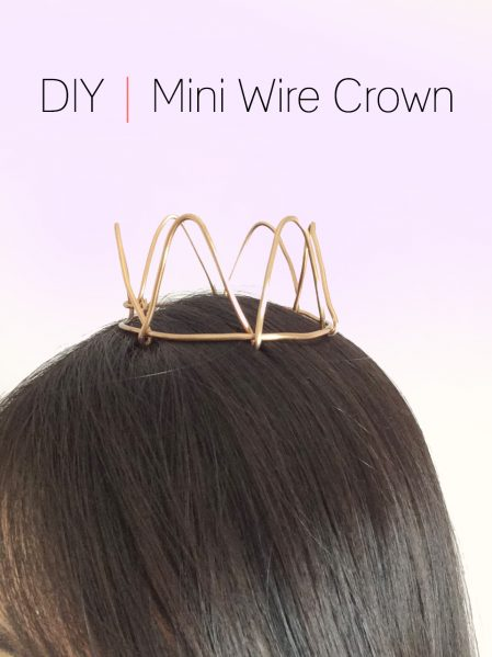 DIY Mini Wire Crown