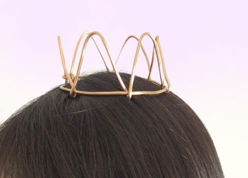 DIY Mini Wire Crown