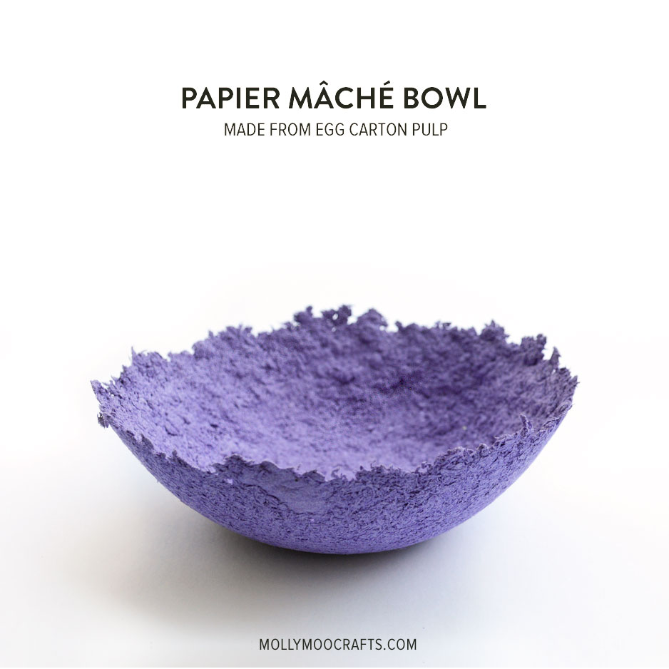 how to make silk paper bowls