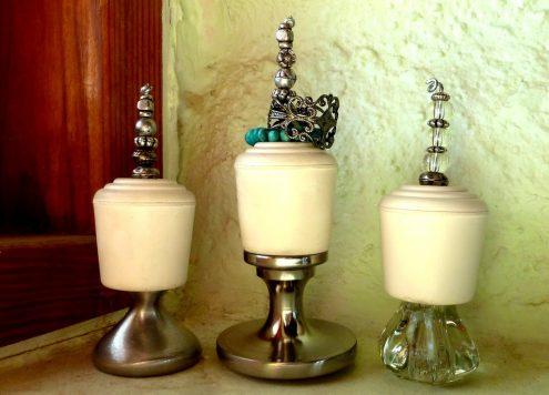 Make Upcycled Drawer Knob Ring Holders