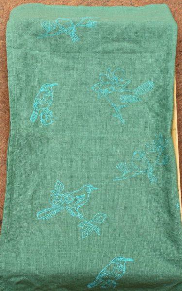 stamped towel diy