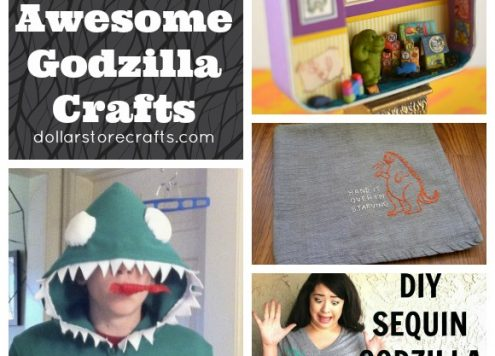 10 Awesome Godzilla Crafts