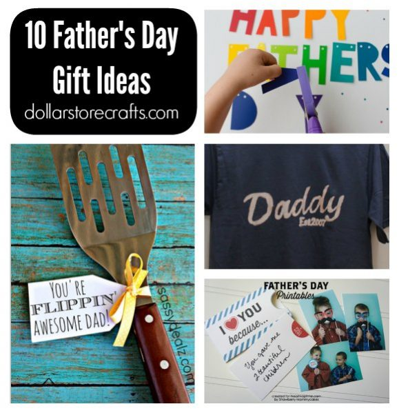 10 DIY Father's Day Gifts » Dollar Store Crafts