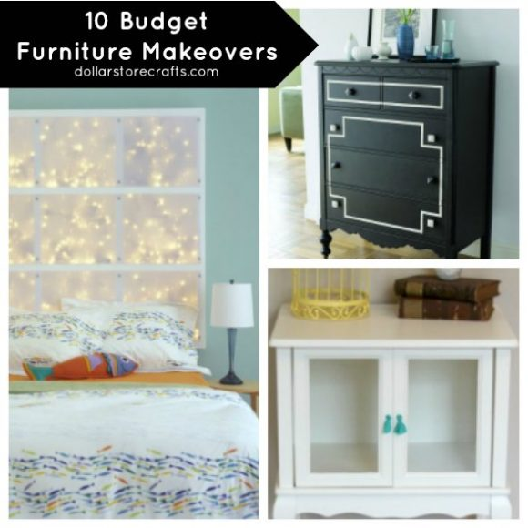 Budget Furniture Stores: 10 Simple, Budget Furniture Makeovers » Dollar Store Crafts