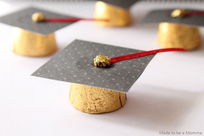 Make Rolo Graduation Cap Favors Dollar Store Crafts