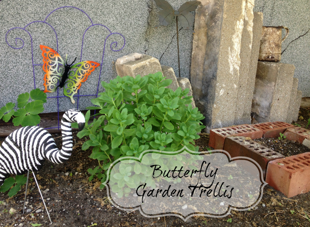 Tutorial Butterfly Garden Trellis 187 Dollar Store Crafts