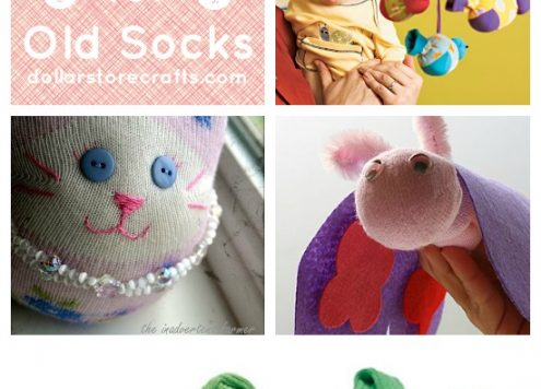 10 Awesome Sock Crafts