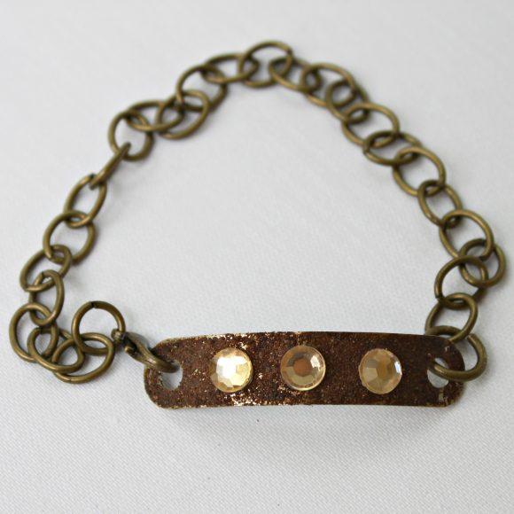 DIY Hardware bracelet