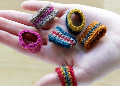 Make Crocheted Rings
