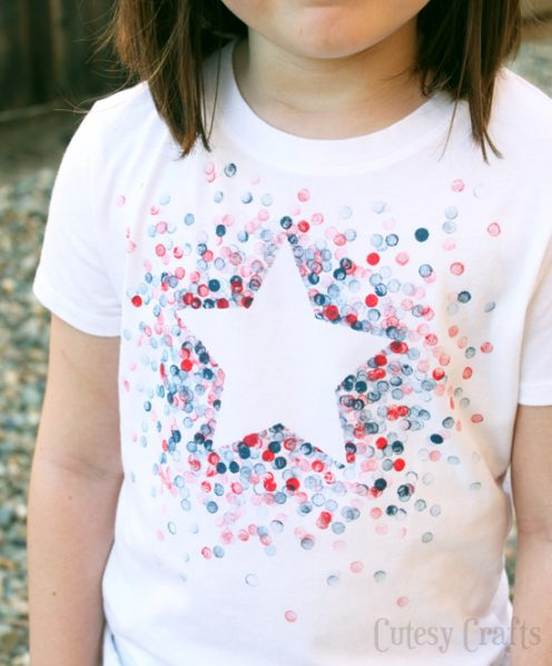 Make an Eraser-Stamped Shirt