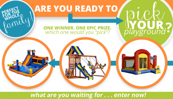 Pick Your Playground - Giveaway at DollarStoreCrafts.com