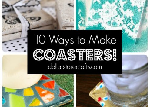 10 DIY Coasters Tutorials