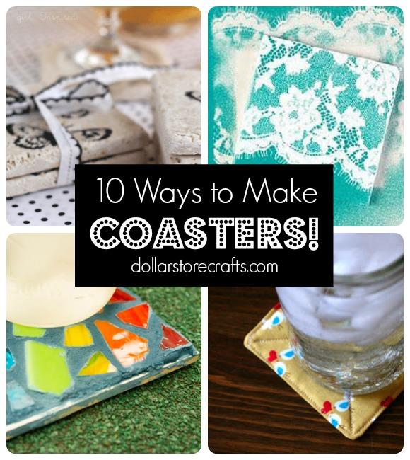 10 DIY Coasters Tutorials