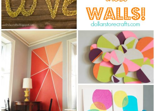10 DIY Wall Art Ideas