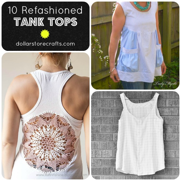 10 Refashioned Tank Tops for the Dog Days