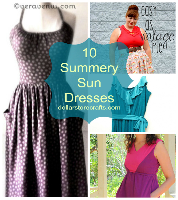 10 Sun Dresses to Keep Your Crafty Cool all Summer