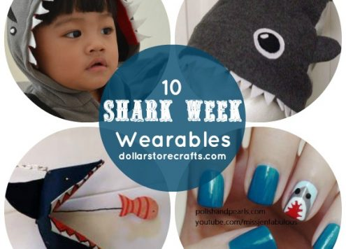 10 Wearable Shark Crafts for Shark Week