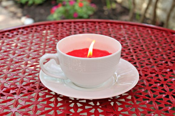 Cup Candle DIY