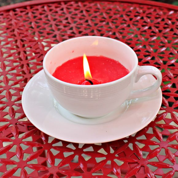 Make Candle in a Cup