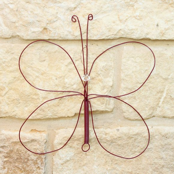 diy whisk butterfly