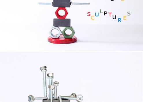 Make Magnetic Sculptures
