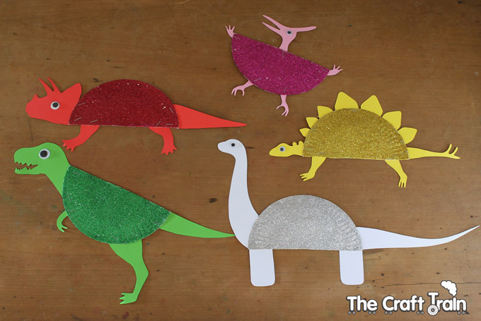 Preschool Theme Dinosaurs Craft