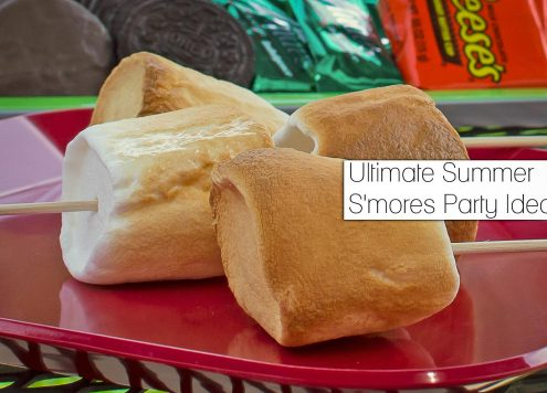 The Ultimate Summer S'mores Party Ideas