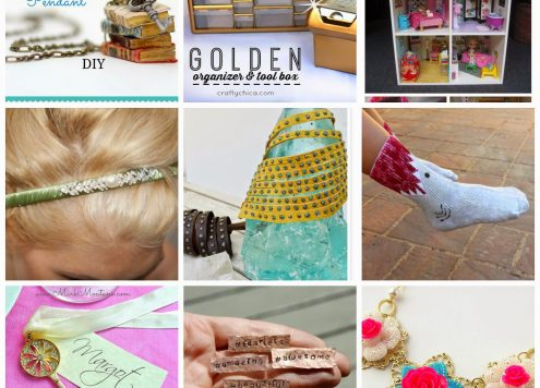 9 summer crafts to DIY from dollarstorecrafts.com