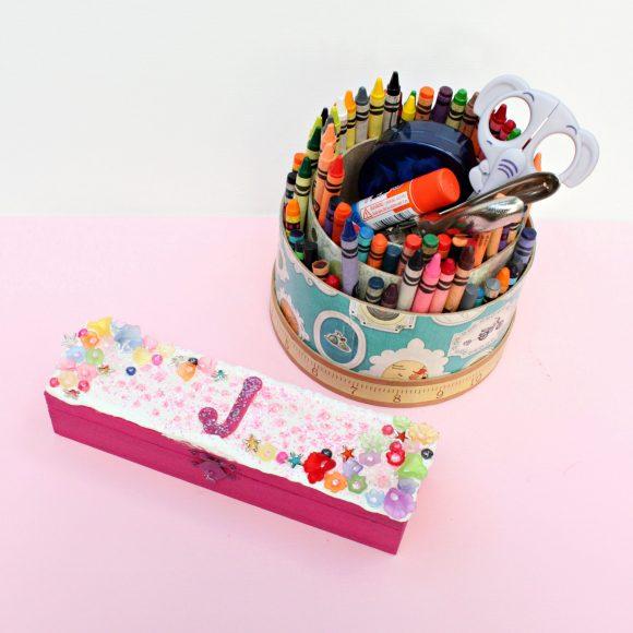 Decoden Pencil Box DIY