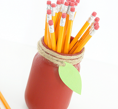 Make an Apple Mason Jar