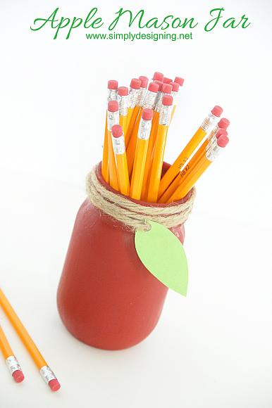 Make an Apple Mason Jar