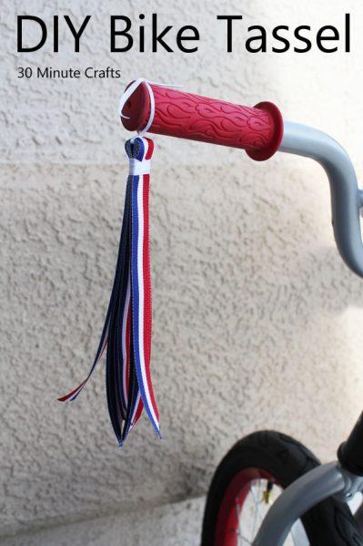 DIY Bike Tassels
